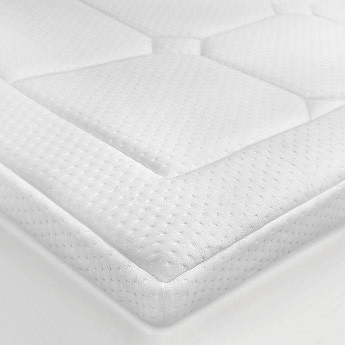 Alternate image 1 for Euro Majestic 3-Inch Memory Foam Full Mattress Topper