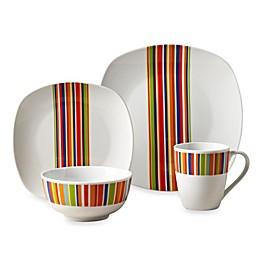 Tabletops Unlimited® Westwood Square Porcelain 16-Piece Set