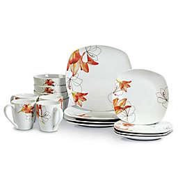 Tabletops Unlimited® Lily Square Porcelain 16-Piece Set