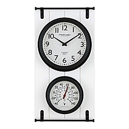 Sterling & Noble Carriage House Indoor/Outdoor Clock