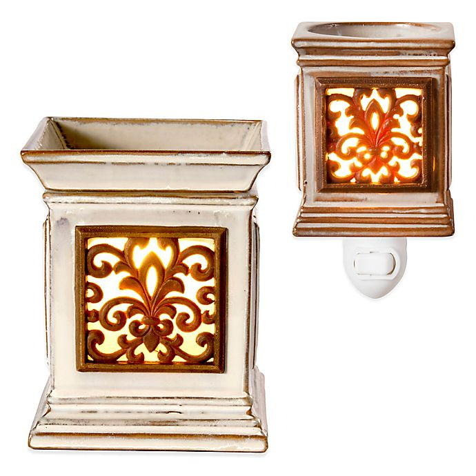 Alternate image 1 for AmbiEscents Elegance Blacksmith Fragrance Wax Warmer
