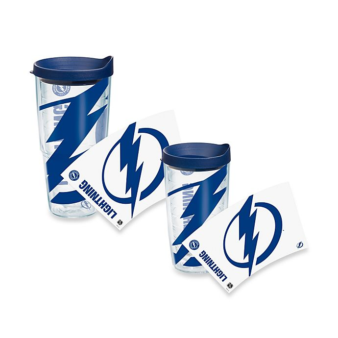 Alternate image 1 for Tervis® Tampa Bay Lightning Colossal Wrap Tumbler