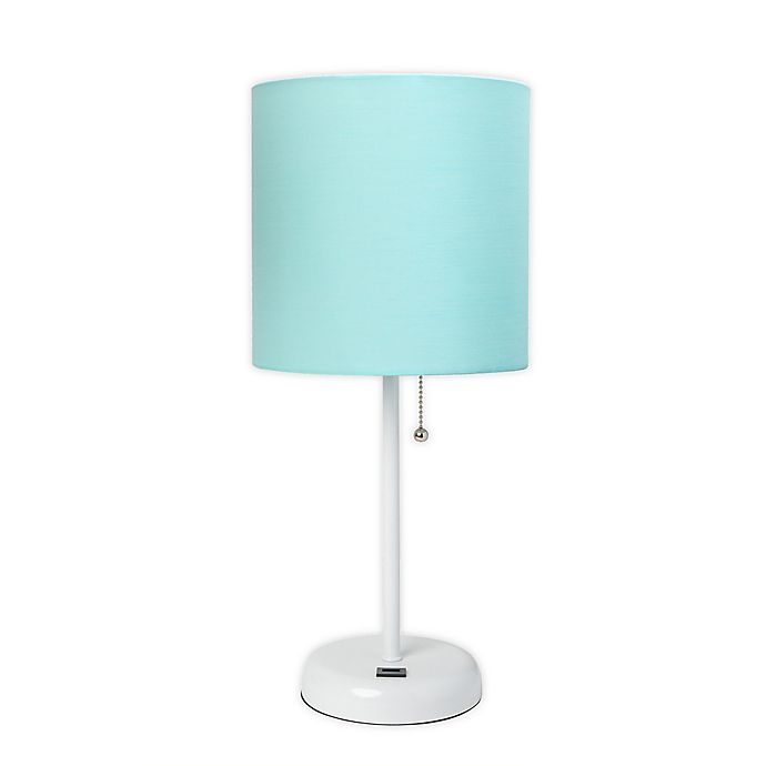 Alternate image 1 for Limelight Stick Table Lamp with USB Charging Port