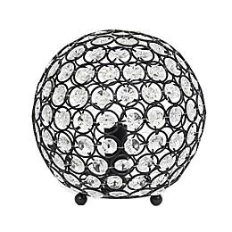Elegant Designs Elipse Crystal Ball Table Lamp
