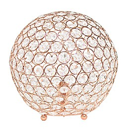 Elegant Designs Elipse Crystal Ball Table Lamp