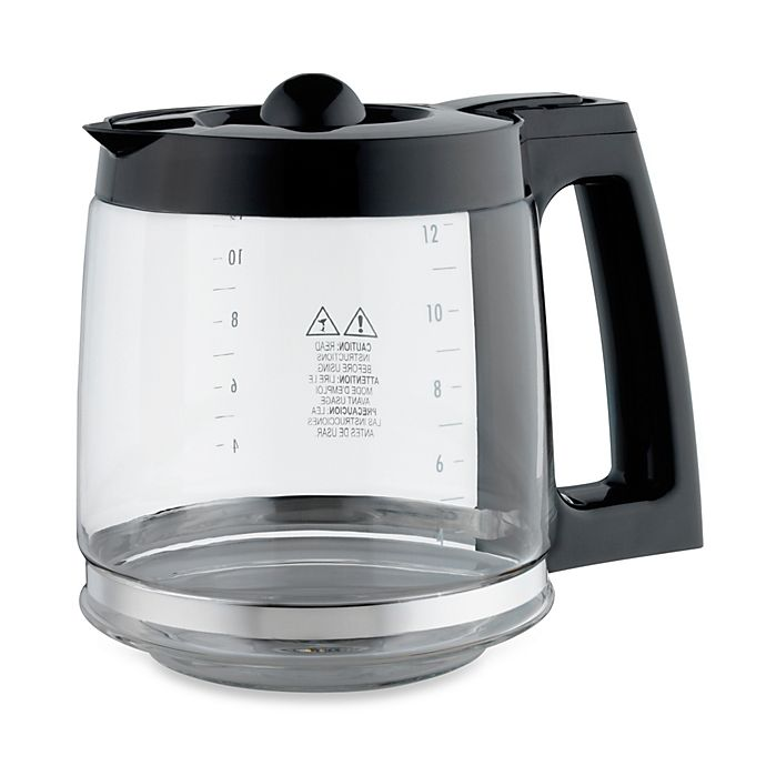 Replacement 12 Cup Coffee Carafe For Hamilton Beach 49980z Two Way