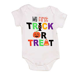 Baby Starters® First Trick or Treat Bodysuit in White