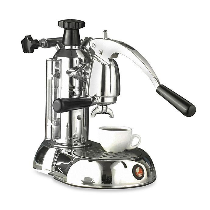 Alternate image 1 for LaPavoni® Stradivari Europiccola 8-Cup Espresso/Cappuccino Maker in Chrome