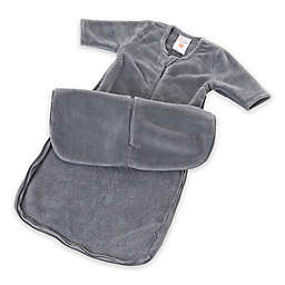 Gunamuna® günaPOD® Size 0-3M Fleece Wearable Blanket in Grey