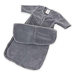 Gunamuna® günaPOD® Size 0-3M Fleece Wearable Blanket in Grey