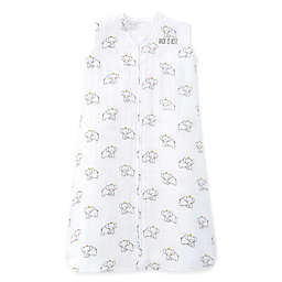 HALO® SleepSack® Medium Muslin Wearable Blanket in Pink Elephant Crown