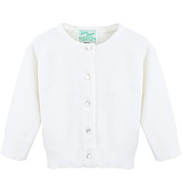 Julius Berger Christening Cardigan in White