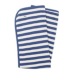L'ovedbaby® Organic Cotton Swaddling Blanket in Slate/Beige