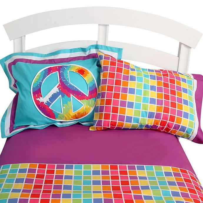 Terrific Tie Dye Twin Sheet Set