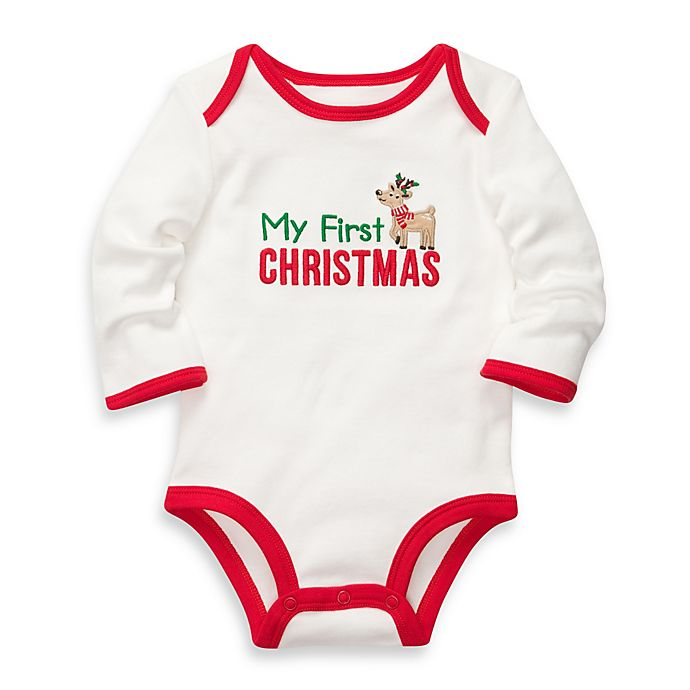 carters my first christmas bodysuit