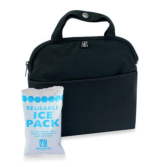 Alternate image 1 for J.L. Childress MaxiCOOL™ 4-Bottle Cooler in Black