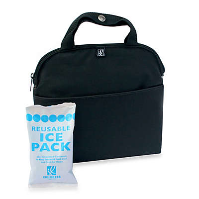 J.L. Childress MaxiCOOL™ 4-Bottle Cooler in Black