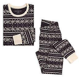 Burt's Bees Baby® Women's 2-Piece Frozen Fair Isle Organic Cotton Pajama Set