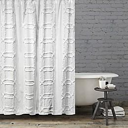 BCBG® Maxazria Clip Cube Shower Curtain