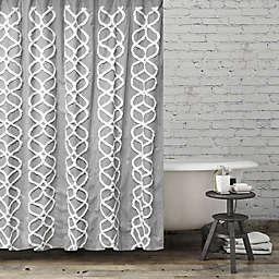 BCBG® Maxazria Interlocked Ogee Shower Curtain