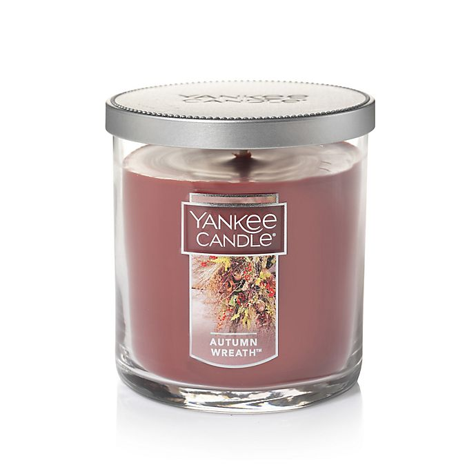 Alternate image 1 for Yankee Candle® Housewarmer® Autumn Wreath™ Small Tumbler Candle