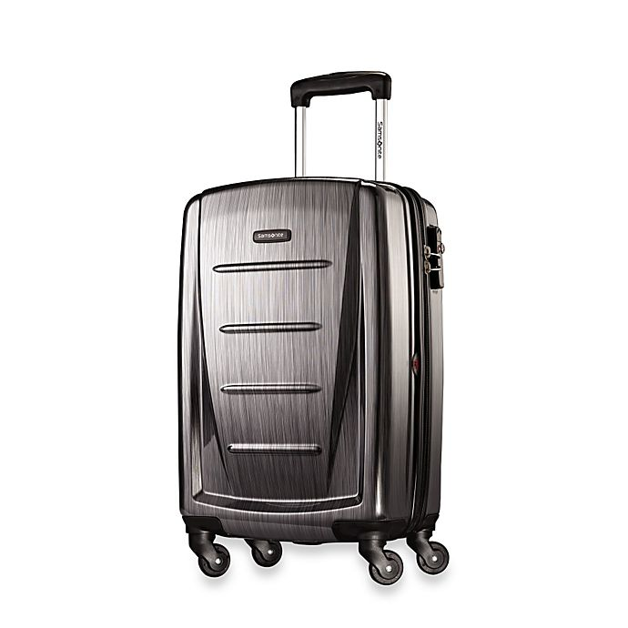 Alternate image 1 for Samsonite® Winfield 2 20-Inch Hardside Spinner Carry On Luggage in Charcoal