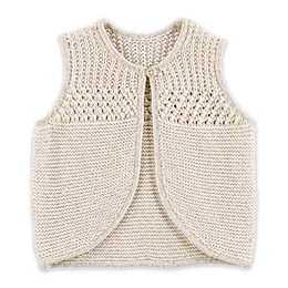OshKosh B'gosh® Feather Sweater Vest in Cream