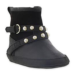 Stuart Weitzman Baby Lugeperl Boot in Black