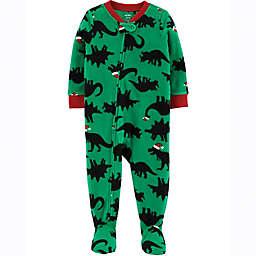 carter's® Santa Dinosaur Footie