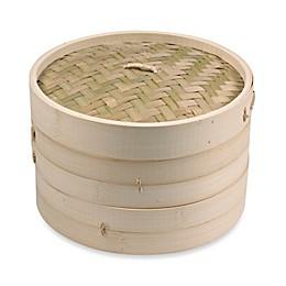 IMUSA® 10-Inch Asian Bamboo Steamer