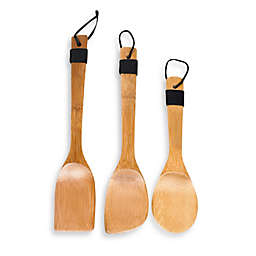 IMUSA® 3-Piece Bamboo Cooking Tools Set