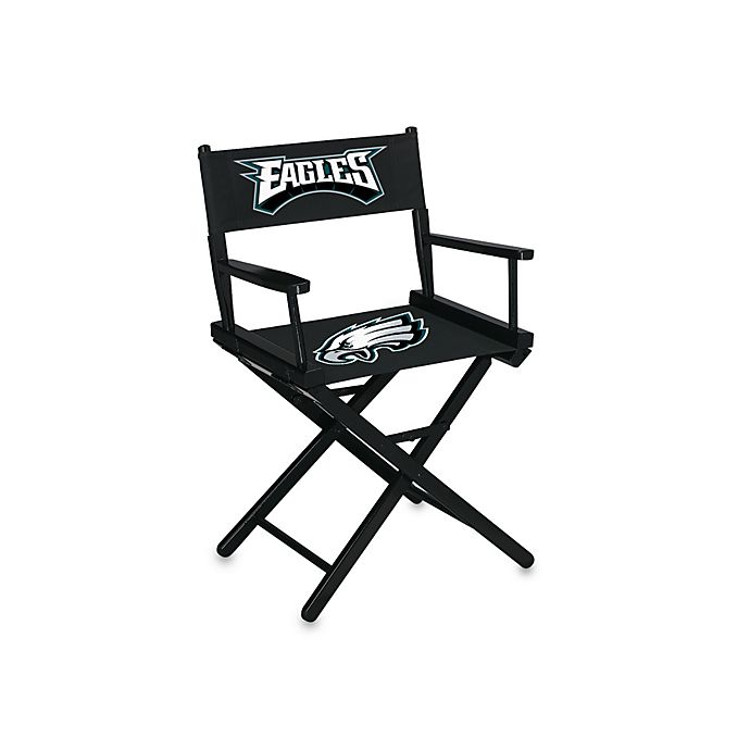 Groovy Nfl Philadelphia Eagles Table Height Director Chair Bed Inzonedesignstudio Interior Chair Design Inzonedesignstudiocom