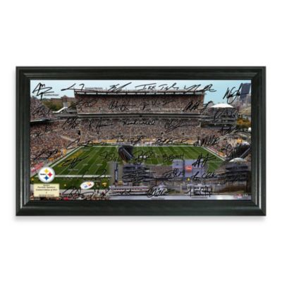 Pittsburgh Steelers Signature Gridiron Collection Photo