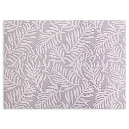 Fern Leaves Woven Vinyl Placemats (Set of 4)