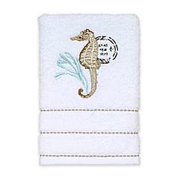 Avanti Farmhouse Shell Hand Towel in White