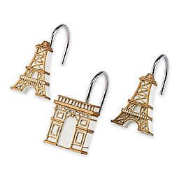 Avanti Paris Botanique 12-Piece Shower Hook Set