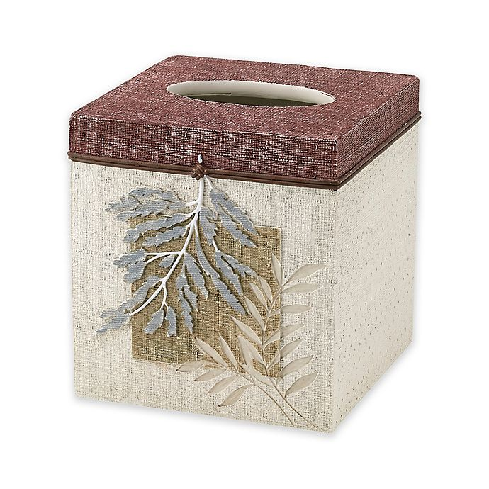 Alternate image 1 for Avanti Serenity Tissue Box Cover