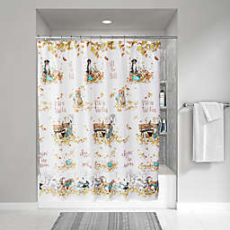 SKL Home Autumn Dogs Shower Curtain