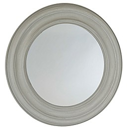 Bee & Willow™ Home 24-Inch Round Wall Mirror in Light Grey