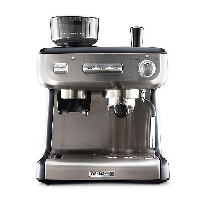 Alternate image 1 for Calphalon® Temp iQ Espresso Machine with Grinder