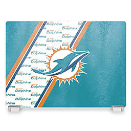 NFL Miami Dolphins Tempered Glass Cutting Board