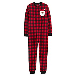 carter's® Buffalo Check Adult Footless Pajama