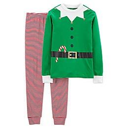 carter's® Adult 2-Piece Elf Suit Pajama Set