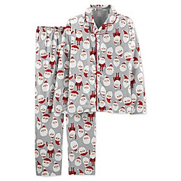 carter's® 2-Piece Santa Adult Pajama Top and Pant Set
