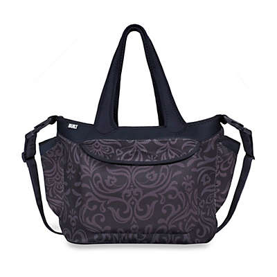 Built® Go-Go Diaper Tote in Night Damask