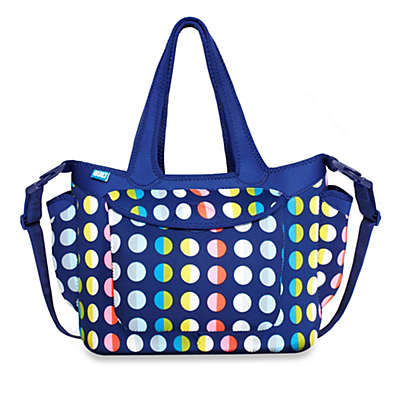 Built® Go-Go Diaper Tote in Baby Dot No. 9