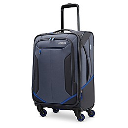 American Tourister® Rematch 20-Inch Spinner Carry On Luggage in Blue/Black