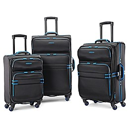 American Tourister® Exo Eclipse Luggage Collection in Black/Blue