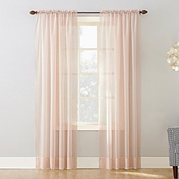 No.918® Emily Voile Rod Pocket Sheer Window Curtain Panel