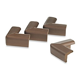 KidCo® Foam 4-Piece Corner Protector Set in Brown